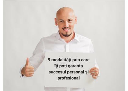 succesul personal si profesional